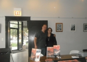 Book signing at Common Cup