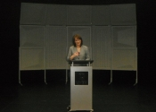 Speech presentation at Anoka Ramsey Community College in Minnesota